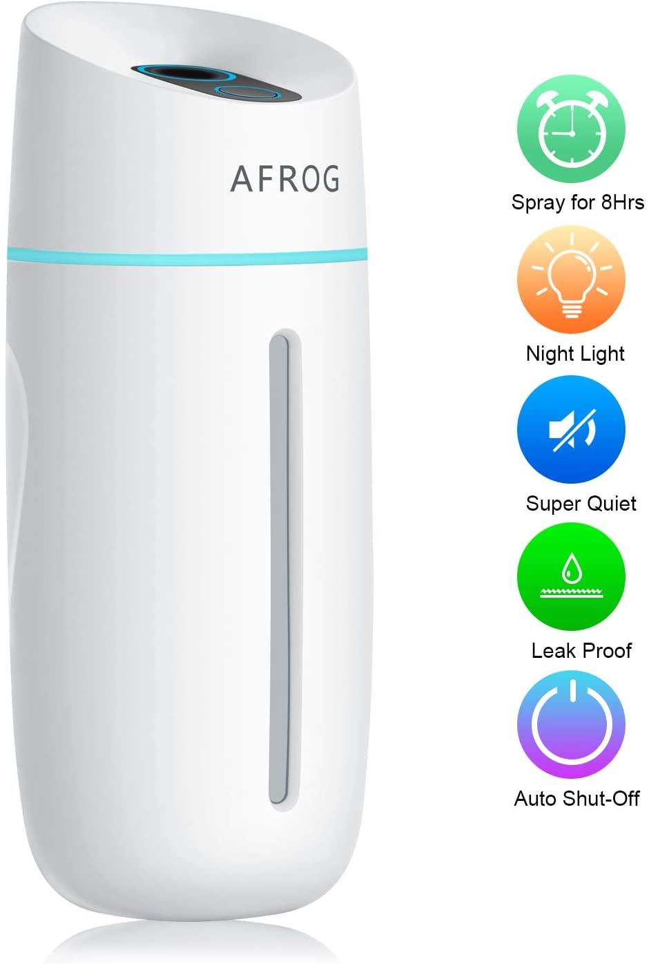 amazon  portable mini humidifier260ml small cool mist