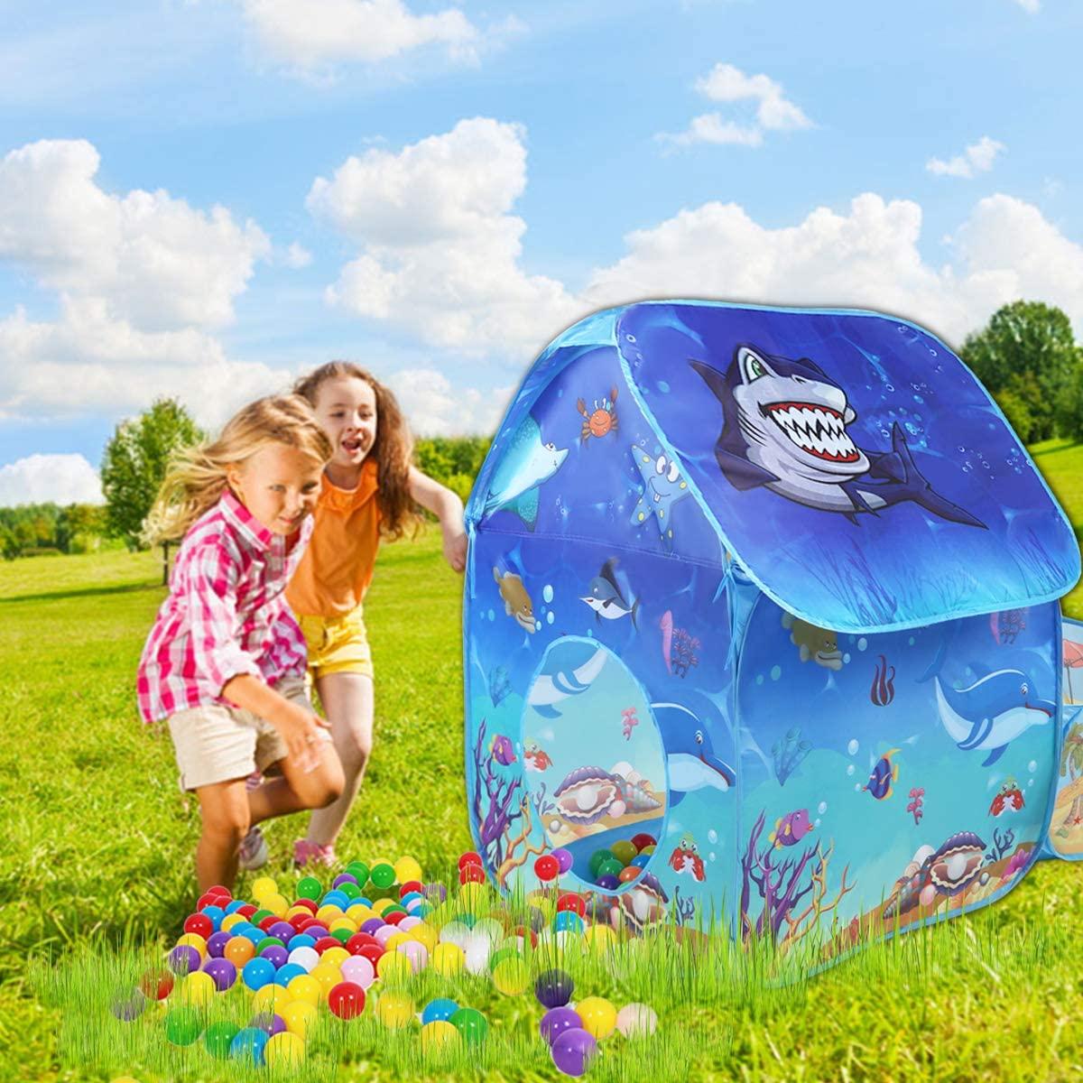 Amazon - Anyshock Kids Tent, Princess Horse Carriage Dual ...